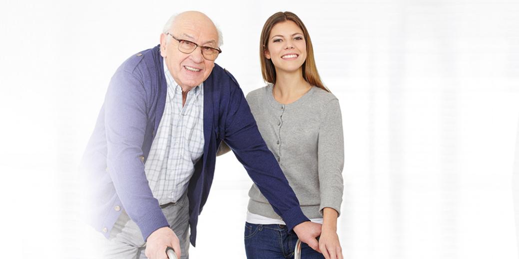 Nursing service for senior couple at home