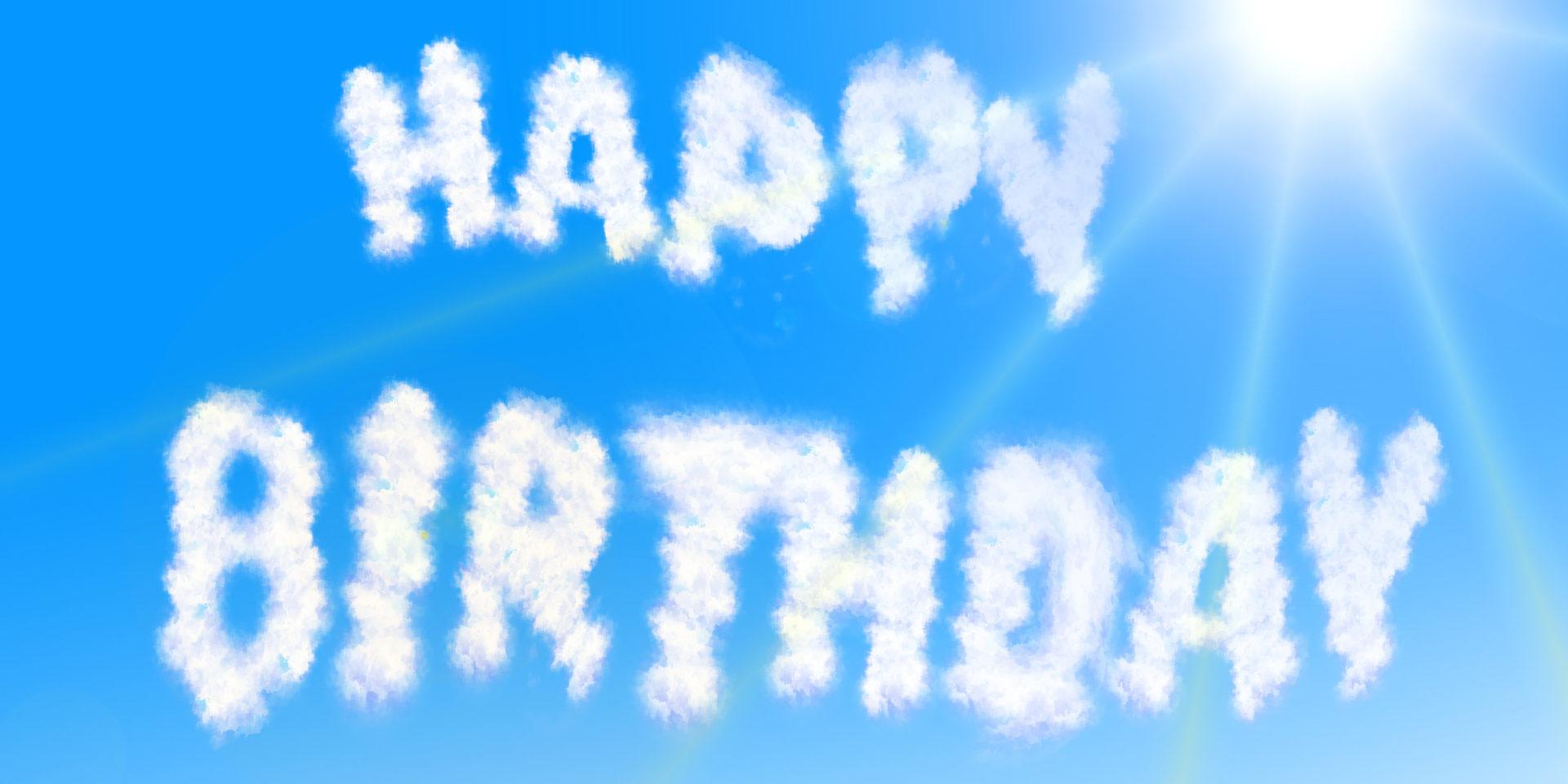 Happy Birthday! Wolcken
